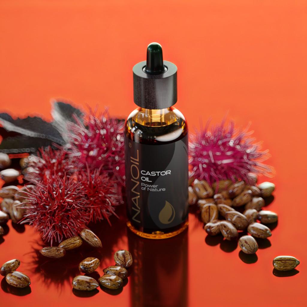 Rizinusöl von Nanoil zur Hautpflege